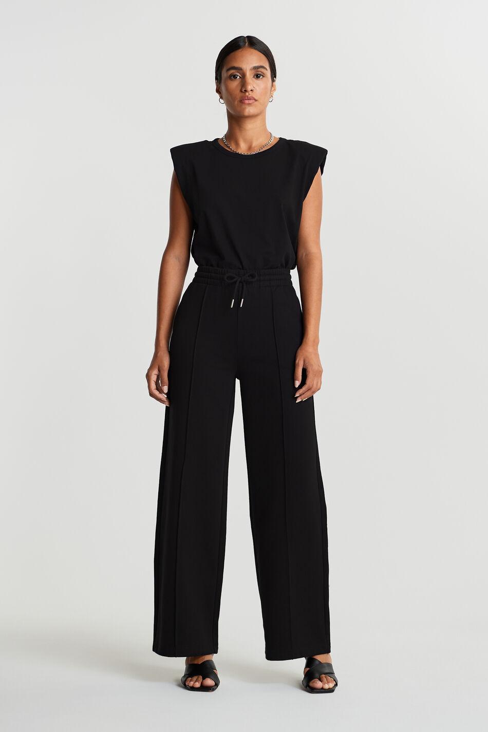 Gina Tricot Bonnie sweatpants L Female Black (9000)