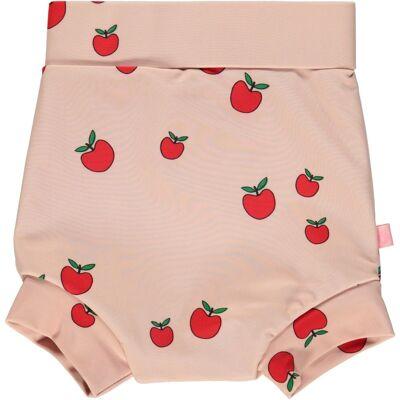 Småfolk Blebadebukser, Høj Talje, UV50 - Pink Æble - Baby Spisetid - Småfolk