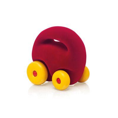 Rubbabu Mascot Bil Rød - Baby Spisetid - Rubbabu