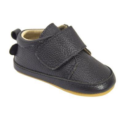 Move Hjemmesko Med Velcro - 190 Black - Baby Spisetid - Move