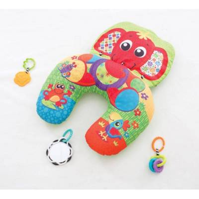 Playgro Aktivitetspude - Elefant - Baby Spisetid - Playgro