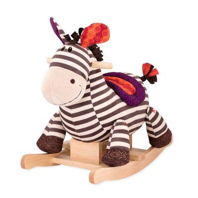 B Toys Gyngezebra Kazoo - Baby Spisetid - B Toys