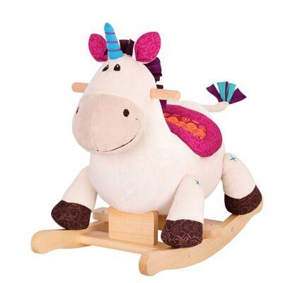B Toys Gyngeenhjørning Dilly Dally - Baby Spisetid - B Toys