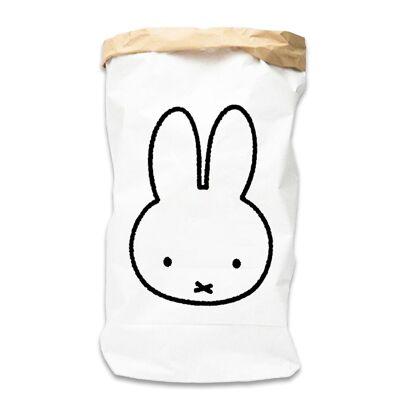 Miffy Papirsæk, outline str. M - Baby Spisetid - Miffy