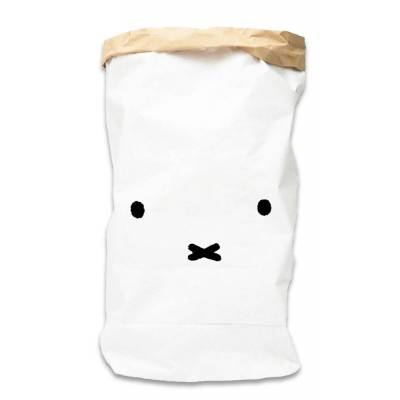 Miffy Papirsæk, ansigt str. XL - Baby Spisetid - Miffy