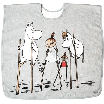 Moomin Poncho, Blå - Baby Spisetid - Moomin