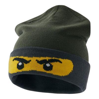 Lego Lwalfred 708 Hat - 883 Dark Green - Baby Spisetid - Lego