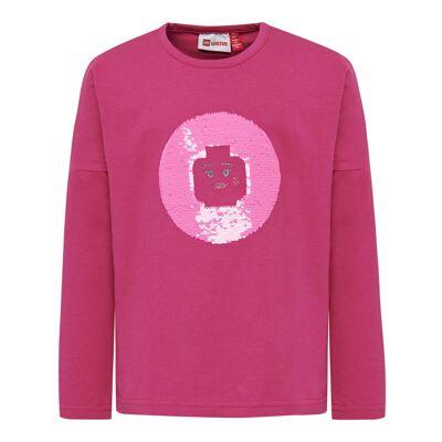 Lego Lwtippi 752 T-Shirt - 496 Dark Pink - Baby Spisetid - Lego