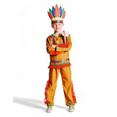 Oxybul Indianer Kostume, 3-5 År - Baby Spisetid - Oxybul