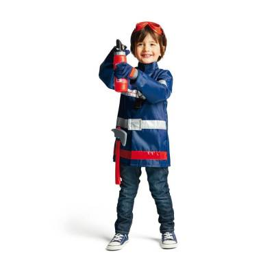 Oxybul Brandmands Kostume, 3-5 År - Baby Spisetid - Oxybul