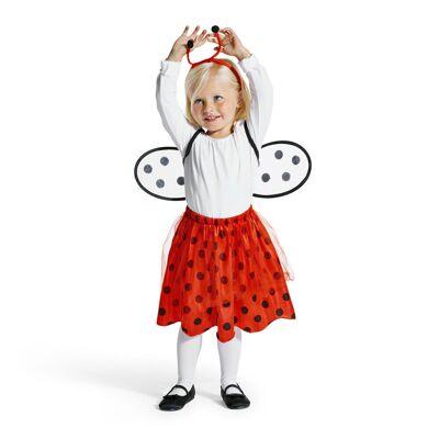 Oxybul Mariehøne Kostume, 18-24 Mdr. - Baby Spisetid - Oxybul