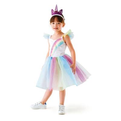 Oxybul Enhjørning-Prinsesse Kostume, 3-5 År - Baby Spisetid - Oxybul