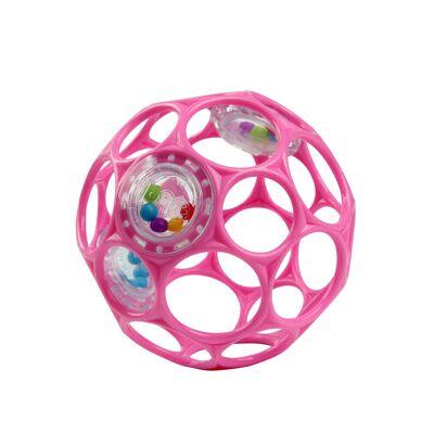 Oball Rangle Pink - Baby Spisetid - Oball