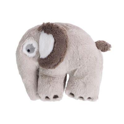 Sebra Plysdyr Elefant - Feather Beige - Baby Spisetid - Sebra