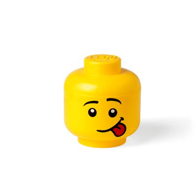 Lego Opbevaringshoved Silly Dreng Stor - Baby Spisetid - Lego