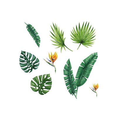 That´s Mine Vægdekoration velkommen i junglen - Baby Spisetid - That´s Mine