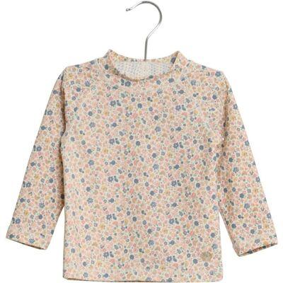 Wheat Dilan Langærmet Bade T-Shirt - 3182 - Børnetøj - Wheat