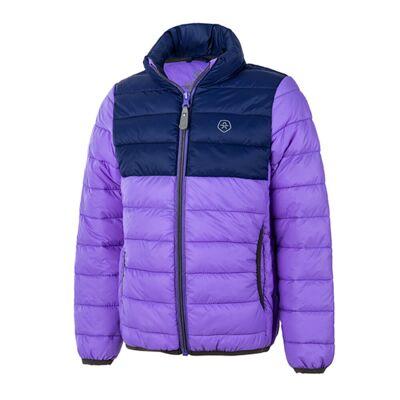 Color Kids Ronbong Quiltet Jakke - Purple Hebe - Børnetøj - Color Kids