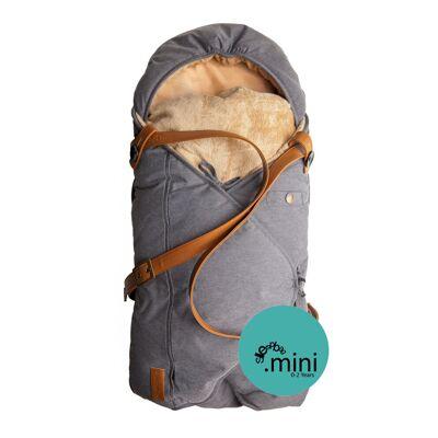 Sleepbag.dk Babysovepose Mini - Denim - Børnetøj - Sleepbag.dk