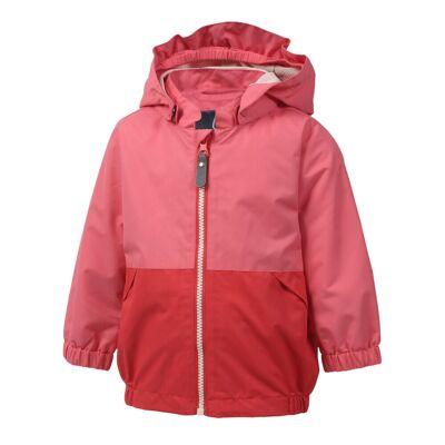 Color Kids Torgun mini jacket - CORAL RED - Børnetøj - Color Kids