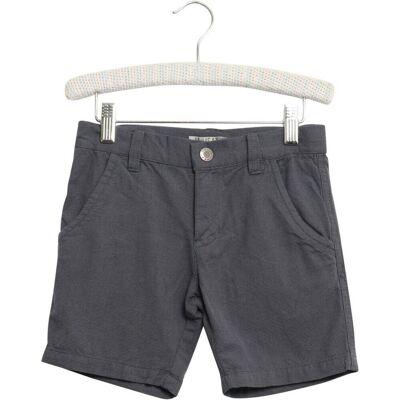 Wheat Normann Shorts Mini - Grey/0171 - Børnetøj - Wheat