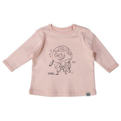 Papfar Langærmet T-Shirt - Chintz Rose/501 - Børnetøj - Papfar