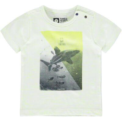 Tumble´n Dry Blicks T-Shirt - White - Børnetøj - Tumble´n Dry