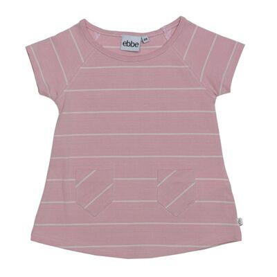 ebbe Erin A-Line Kjole - Pink/Offwhite - Børnetøj - ebbe