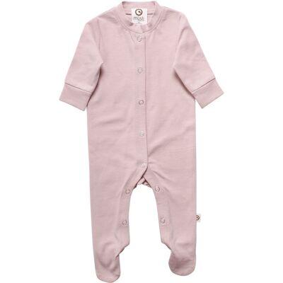 Müsli Mini Me Bodysuit Med Fødder - Rose - Børnetøj - Müsli