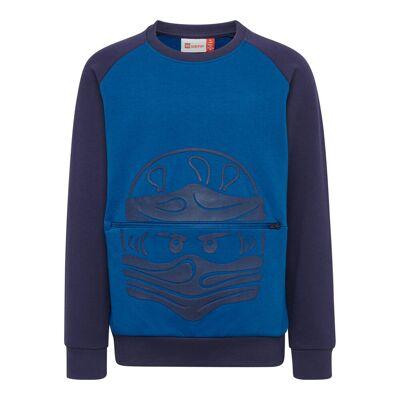 Lego Lwsiam 651 Sweatshirt - 553 Blue - Børnetøj - Lego