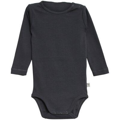Wheat Langærmet Body - 1292 Greyblue - Børnetøj - Wheat