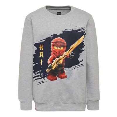 Lego Cm-50324 Sweatshirt - 921 Grey Melange - Børnetøj - Lego