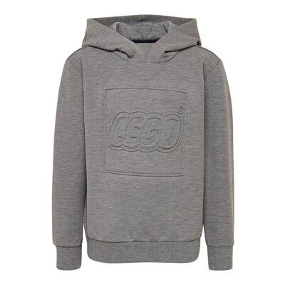 Lego Lwsiam 762 Sweatshirt - 921 Grey Melange - Børnetøj - Lego