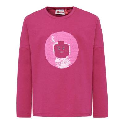 Lego Lwtippi 752 T-Shirt - 496 Dark Pink - Børnetøj - Lego