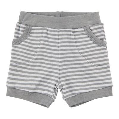 Pippi Stribede Shorts - 117 Nimbus Gloud - Børnetøj - Pippi