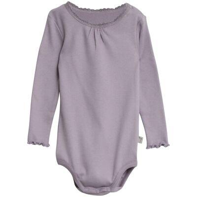 Wheat Langærmet Rib Blonde Body - 1571 Soft Lavender - Børnetøj - Wheat