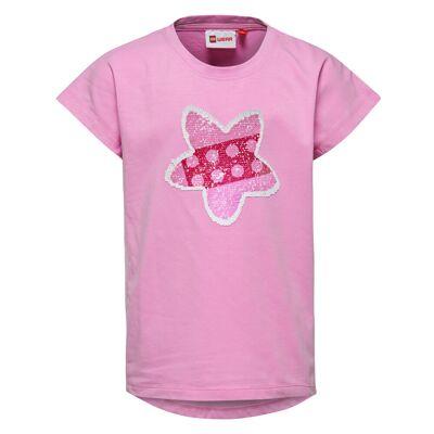 Lego Tippi 106 Kortærmet T-shirt - Pink - Børnetøj - Lego