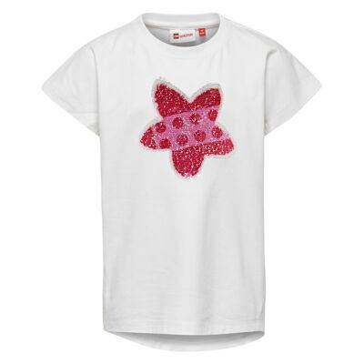 Lego Tippi 106 Kortærmet T-shirt - Off White - Børnetøj - Lego