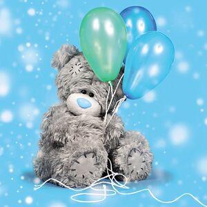 3D-Kort, Bamse med balloner - Me To You