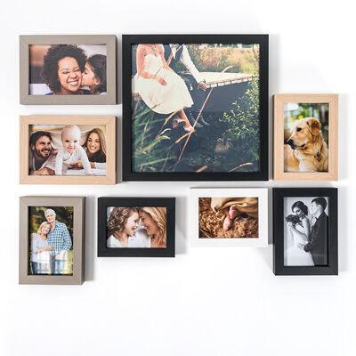 smartphoto Sort ramme 60 x 90 cm