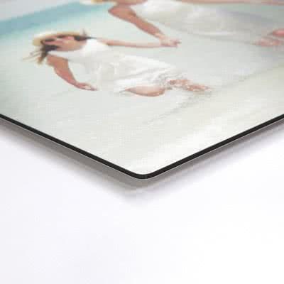 smartphoto Aluminiumsfoto med børstet overflade 105 x 70 cm