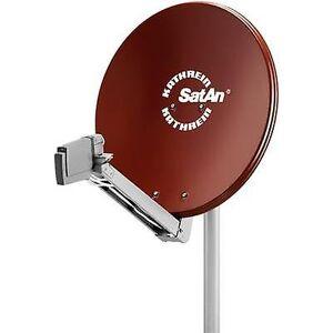 Kathrein CAS 80 SAT antenne 75 cm reflekterende materiale: Aluminium rød brun