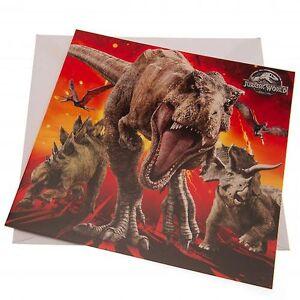 Jurassic Park Jurassic Verden blankt kort
