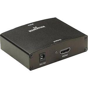 Manhattan AV Converter [VGA, RCA - HDMI]