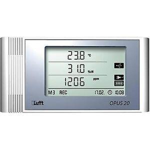 Lufft Opus20 TCO LAN temperatur, fugt, CO2-Data loggeren