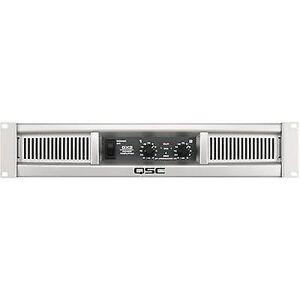 QSC GX 3 PA forstærker RMS strøm pr. kanal (ved 4 Ohm): 425 W