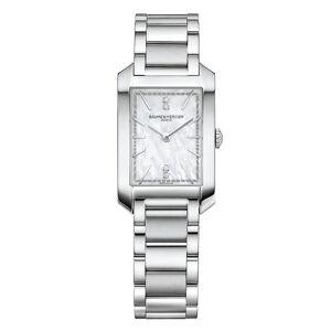 Baume & Mercier BM0A10474 Hampton Rektangulær Diamond-Set Dial Armbåndsur