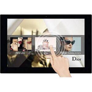 Braun Tyskland DigiFrame Digital fotoramme 35,6 cm 14 tommer 1920 x 1080 p 8 GB Sort