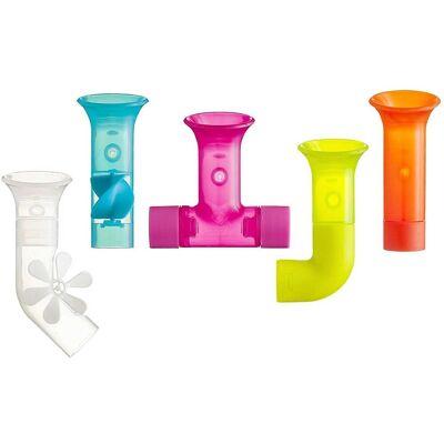 Boon rør bygning badekar legetøj sæt - Baby Spisetid - Boon
