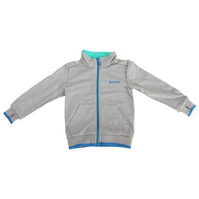Bench Bænk børnetøj/drenge flaske Zip op jakke med kontrast Logo Bl... - Børnetøj - Bench